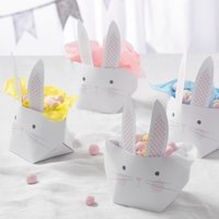 Foldable Bunny Basket – Set of 4