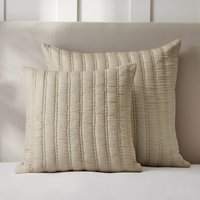 Elgin Cushion Cover, Oyster, Medium Square