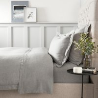 Evesham Duvet Cover, Charcoal Grey, Double
