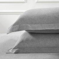 Evesham Oxford Pillowcase with Border - Single