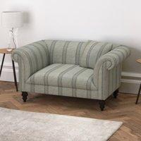 Earlsfield Stripe Love Seat, Stripe, One Size