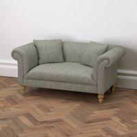 Earlsfield Tweed 2 Seater Sofa, Tweed Mid Grey, One Size