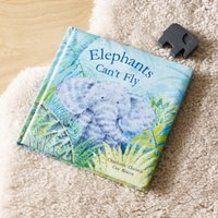 Elephants Can't Fly Book by Charlotte Christie, Multi, One Size