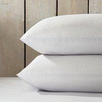 Essentials Egyptian Cotton Classic Pillowcase - Single, Silver, Super King