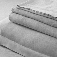 Evesham Flat Sheet, Charcoal, King