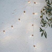 Glass-Jar Fairy Lights - 20 Bulbs, Clear, One Size