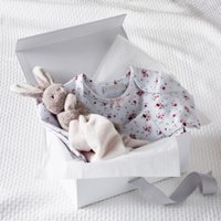 Floral Baby Gift Set