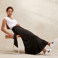 Frill Wrap Skirt