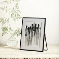 """Fine Black Easel Frame 5x7"""", Black, One Size"""