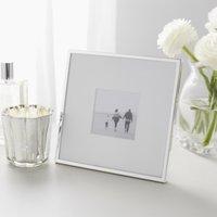 "Fine Silver Photo Frame 3x3"", Silver, One Size"