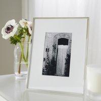 "Fine Silver Photo Frame 4x6"", Silver, One Size"