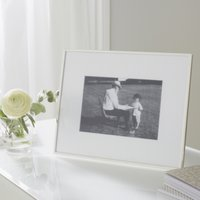 "Fine Silver Photo Frame 5x7"", Silver, One Size"