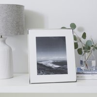 "Fine Silver Photo Frame 8x10"", Silver, One Size"