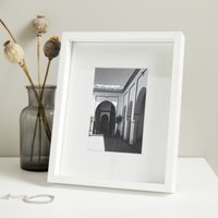 Fine Wood Photo Frame 4x6, White, One Size