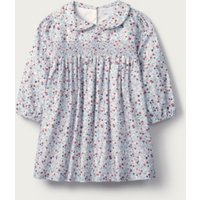 Floral Collared Dress, Multi, 12-18mths