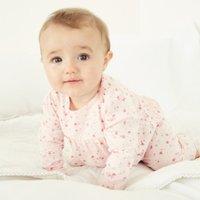 Floral Pyjamas, Pink, 3-6mths