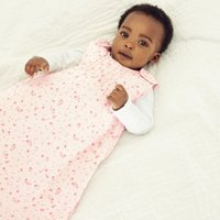 Floral Sleeping Bag - 2.5 Tog, Pink, 0-6mths