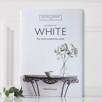 For The Love Of White Book by Chrissie Rucker OBE, White, One Size