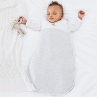 Giraffe & Striped Sleeping Bag - 2.5 Tog, White, 6-18mths