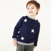 Glow-In-The-Dark Jumper (1-6yrs), Navy, 3-4yrs