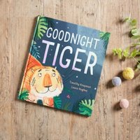 Goodnight Tiger Story Book By Timothy Knapman & Laura Hughes, Multi, One Size