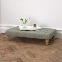 Hampstead Rectangular Tweed Footstool