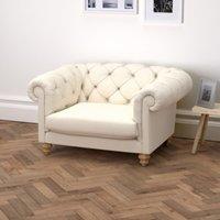 Hampstead Cotton Love Seat