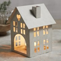 Small House Candle Holder