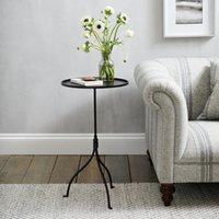 Holkham Side Table, Black, One Size