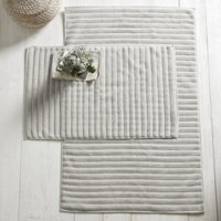 Hydrocotton Bath Mat, Pearl Grey, Medium