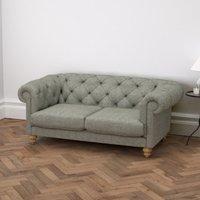 Hampstead 2 Seater Sofa Tweed, Tweed Mid Grey, One Size