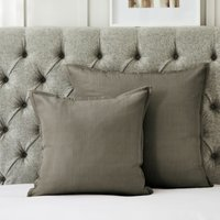 Hampstead Cushion Cover, Mink, Large Square