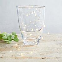 Heart Fairy Lights – 40 Bulbs, Clear, One Size