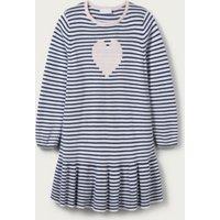 Heart Stripe Dress (1-6yrs), Multi, 2-3yrs