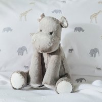 Henry Hippo Medium Toy, Grey, One Size