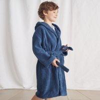 Hydrocotton Robe (5-12 yrs), Moonlight Blue, 9-10yrs