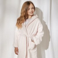 Hydrocotton Robe (5-12 yrs), Whisper Pink, 7-8yrs