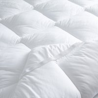 Hypo-Allergenic Comfort Topper, No Colour, King