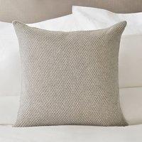Isla Cushion Cover, Soft Grey, Medium Square