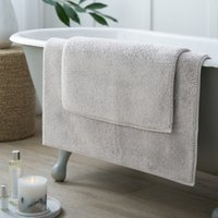 Ile de Re Bath Mat, Pearl Grey, Medium