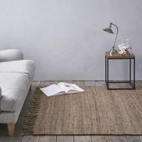 Hand Spun Jute Rug, Natural, Runner