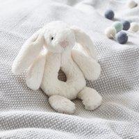 Jellycat Bashful Bunny Rattle, Cream, One Size