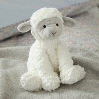 Jellycat Fuddlewuddle Lamb Toy, White Grey, One Size