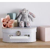 Jellycat Mini Blossom Bashful Bunny Toy, Grey, One Size
