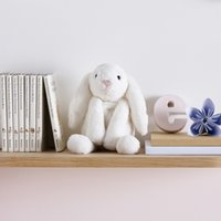 Jellycat Small Smudge Bunny, White, One Size