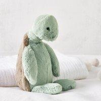 Jellycat Turtle Medium Toy, Grey, One Size