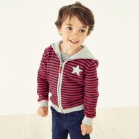 Jersey Lined Zip Up Hoodie (1-6yrs), Multi, 1-1 1/2yrs
