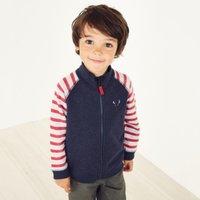 Jingles Zip-Through Sweater (1-6yrs), Multi, 2-3yrs