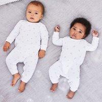 Kimbo Print Sleepsuit - Set of 2