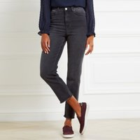 Kingston Frayed Cropped Jeans